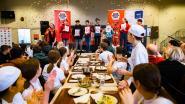 Hotelschool Hasselt trakteert leerlingen op balletjes in tomatensaus voor Rode Neuzen Dag
