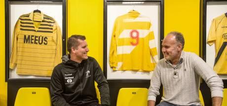 Oud-NAC-spitsen Gabriëls en Cornelissen nu concurrerende trainers: 'We waren toen al wijsneuzen'