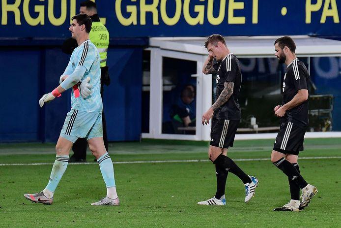Après sa boulette avec les Diables, Thibaut Courtois a commis la faute qui coûte deux points au Real.