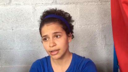 """Studente Amaya Coppens (24): """"Ik ben niet gearresteerd, ik ben gekidnapt"""""""