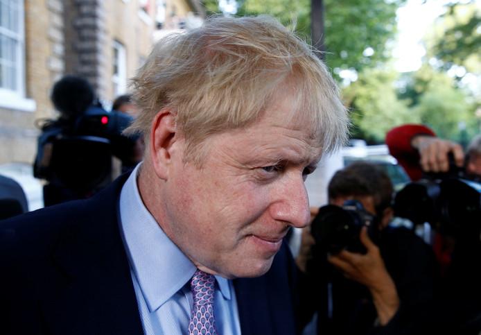 Le candidat à la direction du Parti conservateur Boris Johnson.