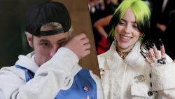 """Bezorgde Bieber huilt om Billie Eilish: """"Ik wil haar beschermen"""""""