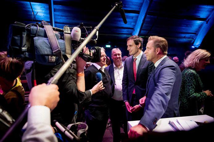 9 november 2019: Wopke Hoekstra en Hugo de Jonge zijn dé twee kroonprinsen van het CDA. Acht maanden later is Hoekstra afgehaakt en haalt De Jonge met miniem verschil het lijsttrekkerschap binnen.