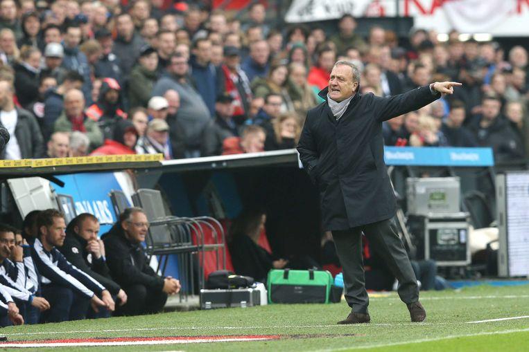 Sparta-coach Dick Advocaat.  Beeld ANP Pro Shots