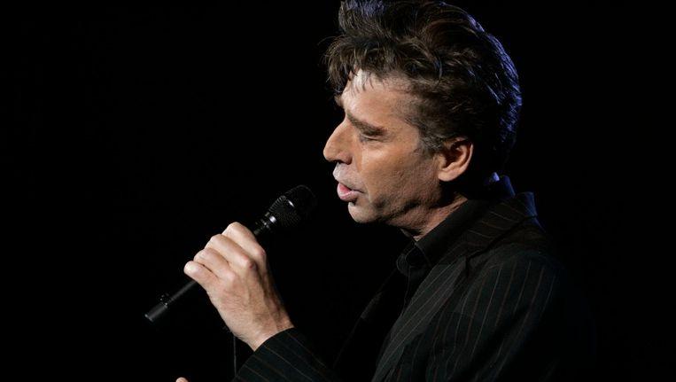 Maarten van Roozendaal tijdens een optreden in 2008. Beeld anp