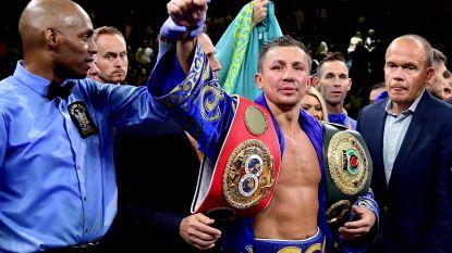Golovkin verovert tegen Derevyanchenko IBF- en WBO-bokstitel