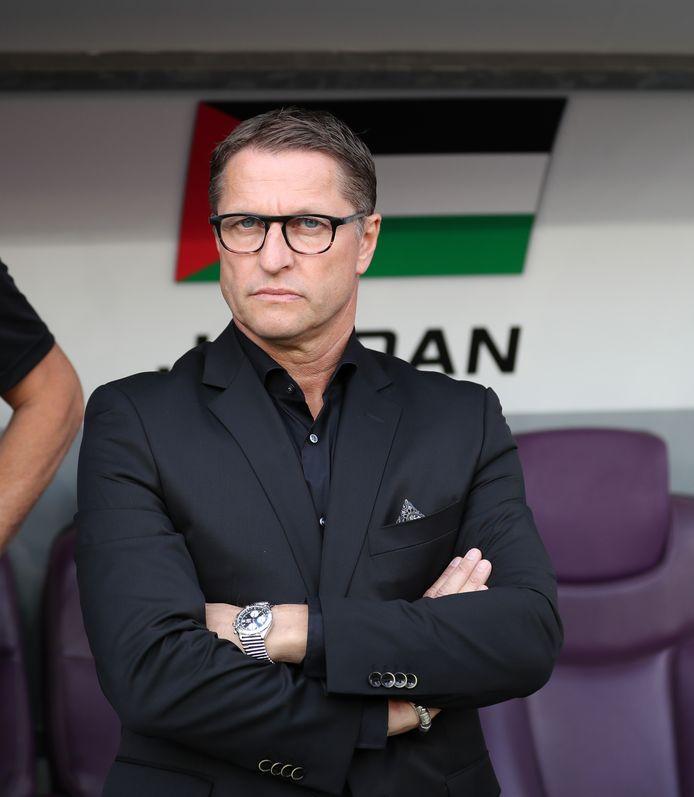 Vital Borkelmans is bondscoach van Jordanië.