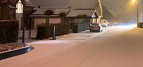 Les premiers flocons de neige sont tombés sur la Belgique