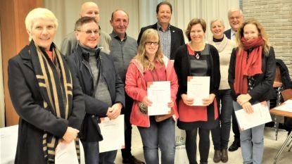 Rode Kruis deelt brevetten uit aan geslaagde cursisten
