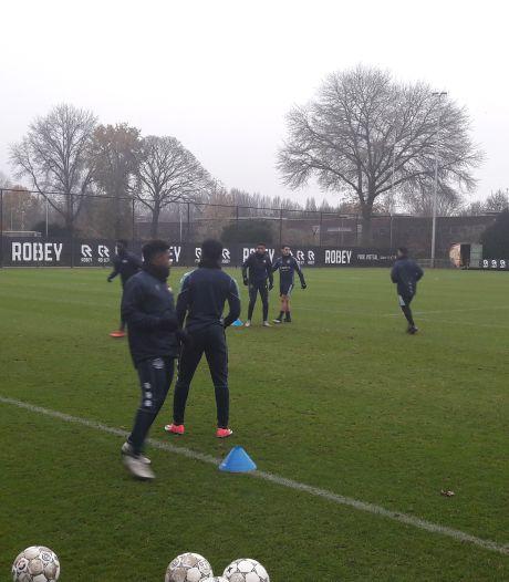 Willem II werkt zonder Sebastian Holmén naar duel met Fortuna Sittard toe