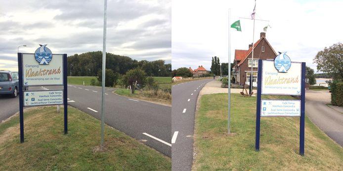 Het begin van deze week had de gemeente Lingewaard de palen al in de dijk gezet waarop de verbodsborden komen voor motoren.
