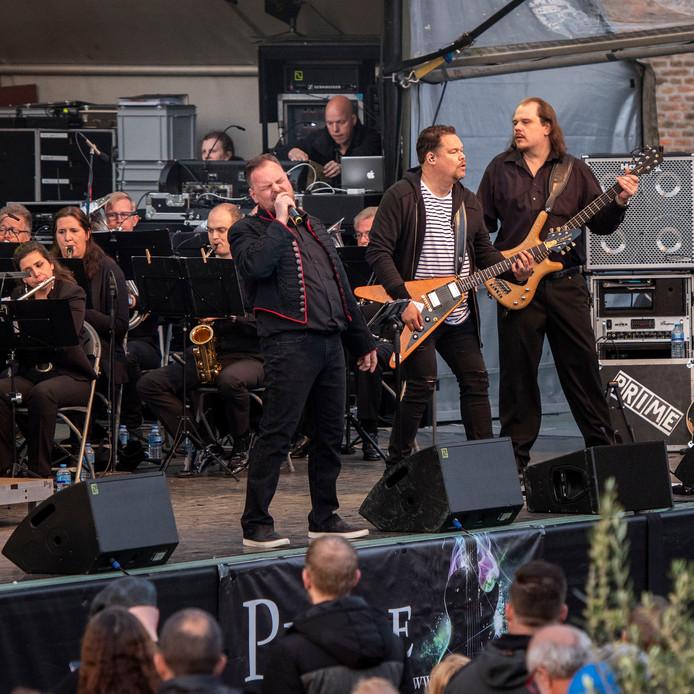 Onder leiding van Jan van den Brandt trad Prime vorig jaar op bij de Queen-avond van de Spanjaardsgatconcerten in Breda.