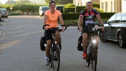 Schepen Kris Govers en zijn vriendin fietsen naar Compostela voor drie goede doelen