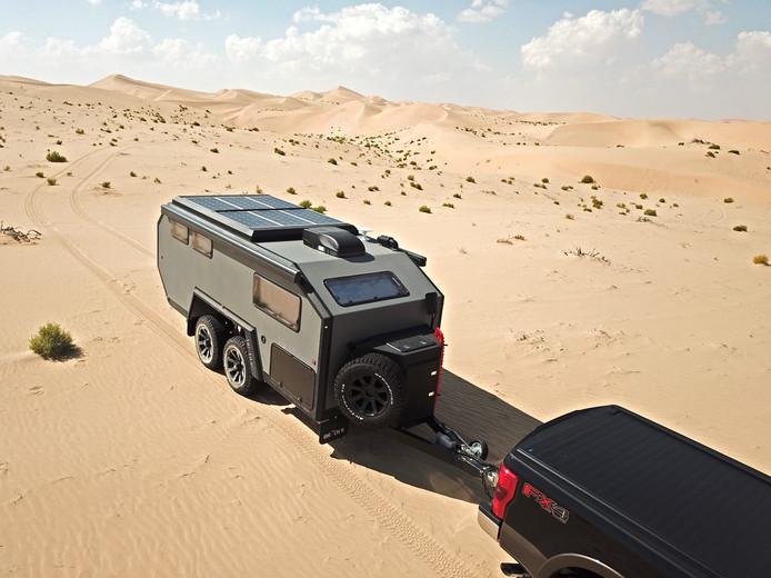De Bruder EXP-6 is ook bestand tegen woestijnhitte