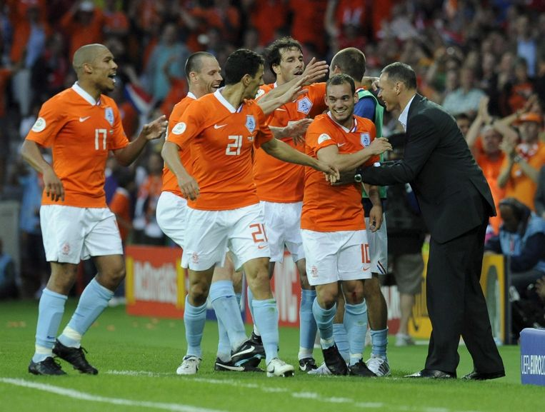 9 juni 2008: Nederland - Italië 3-0. Beeld epa