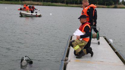 Brandweerzone houdt grote oefening op vijver aan Nieuwdonk