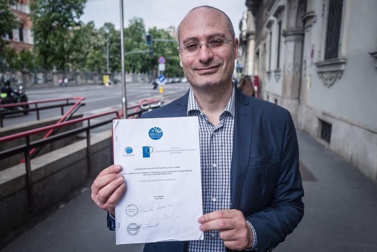 'Leve de inefficiëntie!' Beeld Nicola Zolin