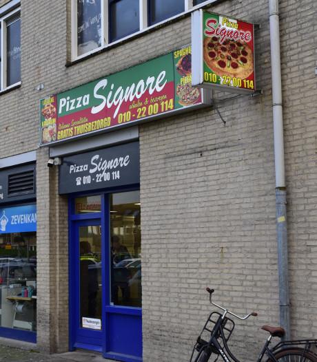 Overvaller pizzeria vlucht op bezorgscooter