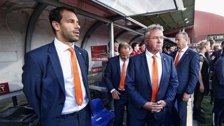 Ruud van Nistelrooij als assistent van het Nederlands elftal. Beeld anp
