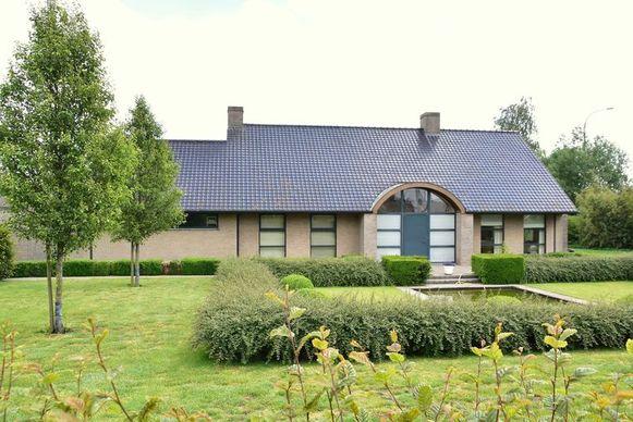 De villa van het koppel in Pittem.