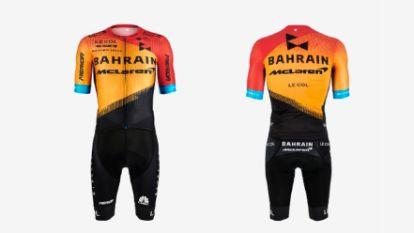 Nieuwe shirts van Teuns en Cavendish bij Bahrain-McLaren wekken scherpe meningen op, wat vindt u ervan?