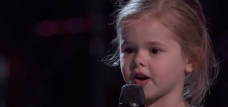 5-jarig meisje blaast na viral ook The Voice-jury omver