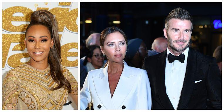 Mel B is grote fan van David Beckham, de echtgenoot van haar ex-collega Victoria