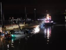 Ene schip na het andere in nood op rivieren in regio door laagwater