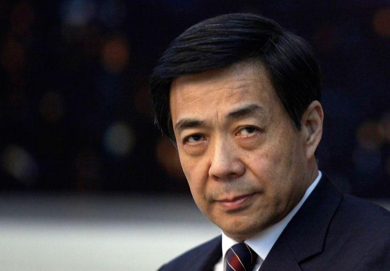 Bo Xilai in maart 2010. Beeld REUTERS