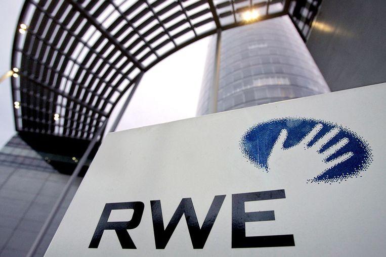 Het hoofdkantoor van het Duitse energiebedrijf RWE in Essen. (AFP) Beeld