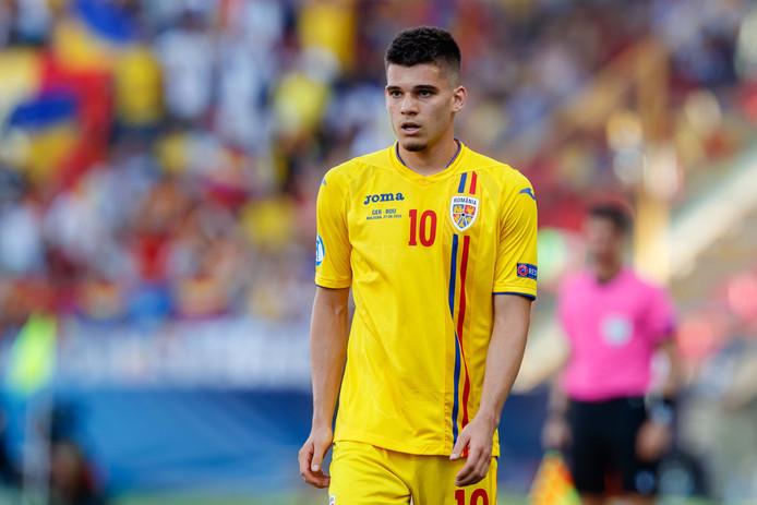Ianis Hagi schitterde vorige maand namens Jong Roemenië op het EK onder 21 in Italië.