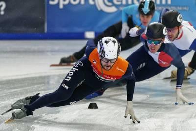 De Laat pakt Europees shorttrackzilver op 1500 meter