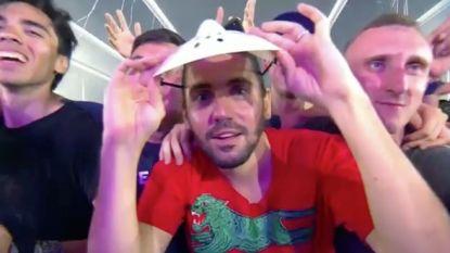 VIDEO. Gemaskerde Dimitri Vegas verrast zijn vrouw MATTN op Tomorrowland
