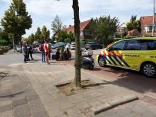 Fietser botst tegen stadsbus in Liendert