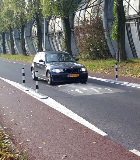 Paaltjes remmen snelheid op nieuwe De Ruyterweg alsnog