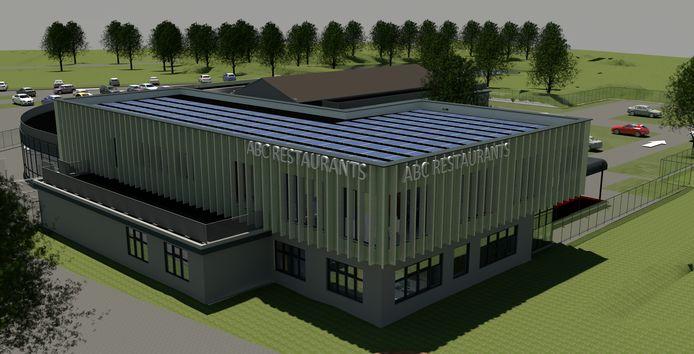 Zo gaat het nieuwe ABC Restaurant in Velp eruit zien.