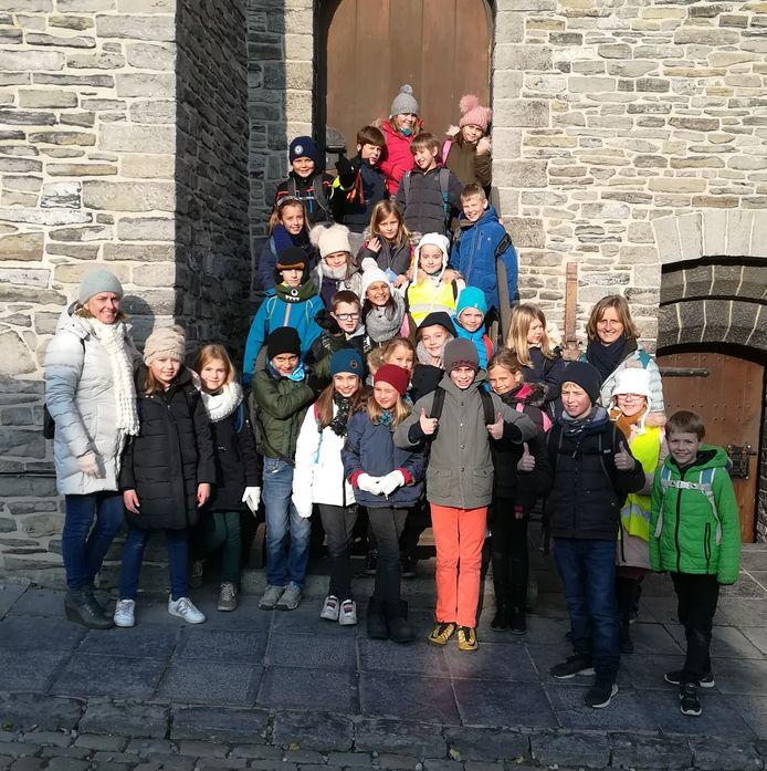 De vierdeklassers verkenden Gent.