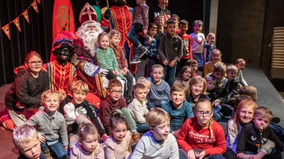 Gezinsbond haalde Sinterklaas en Zwarte Pieten naar de Lier in Lierde