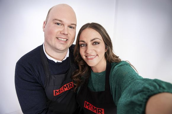 Ayse Korkmaz (30) en Lorenzo Blom (30) openen hun eigen restaurant in de Predikherenkerk in Mechelen tijdens 'Mijn Keuken Mijn Restaurant'