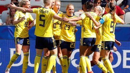 WK vrouwenvoetbal. Zweden pakt ticket voor achtste finales, ook VS na nieuwe makkelijke zege door