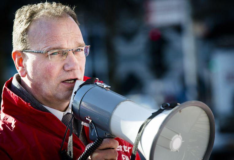 FNV-voorzitter Ton Heerts. Beeld null
