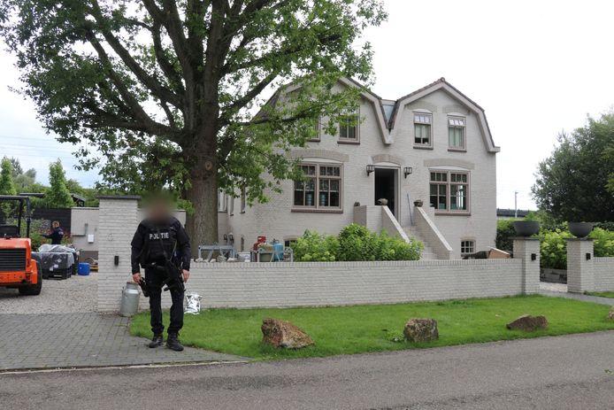 De villa aan de Hof ter Weydeweg in Vleuten