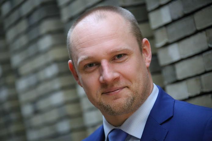 Dennis Gudden, wethouder voor D66 in Wageningen.