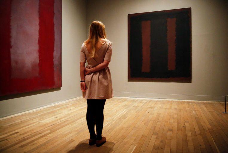 Ander werk van Mark Rothko, tentoongesteld in het Londense museum Tate Modern.