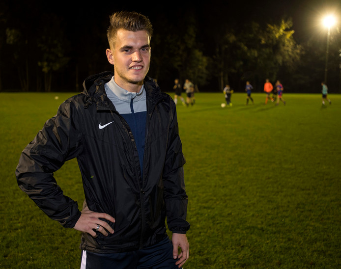 Be-Ready-speler Robin van den Noort scoorde de gelijkmaker tegen OMC.