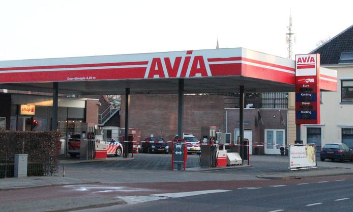 Overval bij Avia tankstation in Lochem