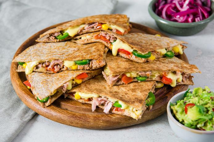 Quesadillas met tonijn