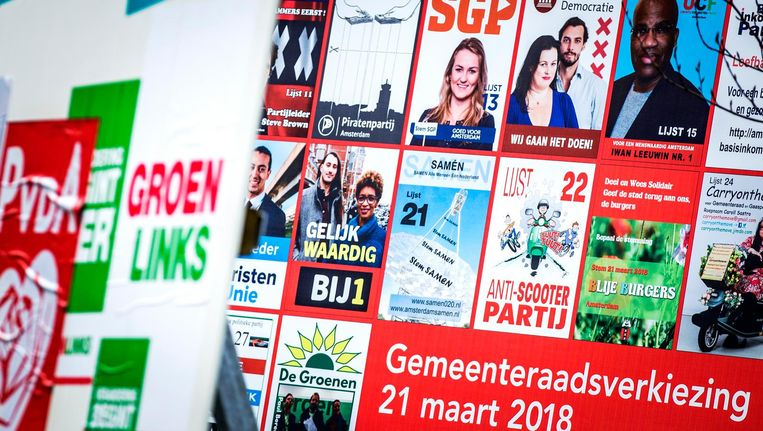 De gemeenteraadsverkiezingen vinden plaats op woensdag 21 maart Beeld ANP