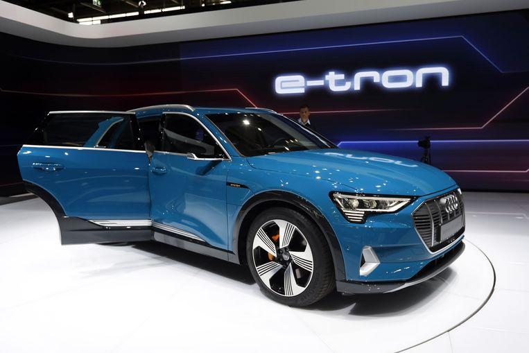 Audi e-Tron 55 Quattro  Beeld EPA
