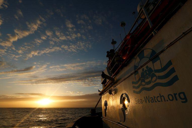 Archiefbeeld van het schip Sea Watch 3.